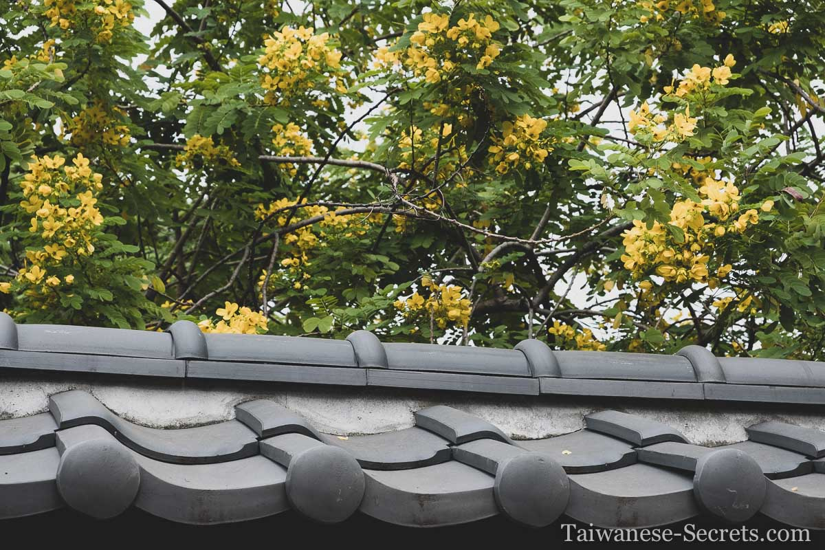 chiayi japanese house roof