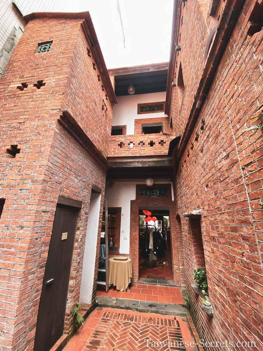 Courtyard on Dihua street