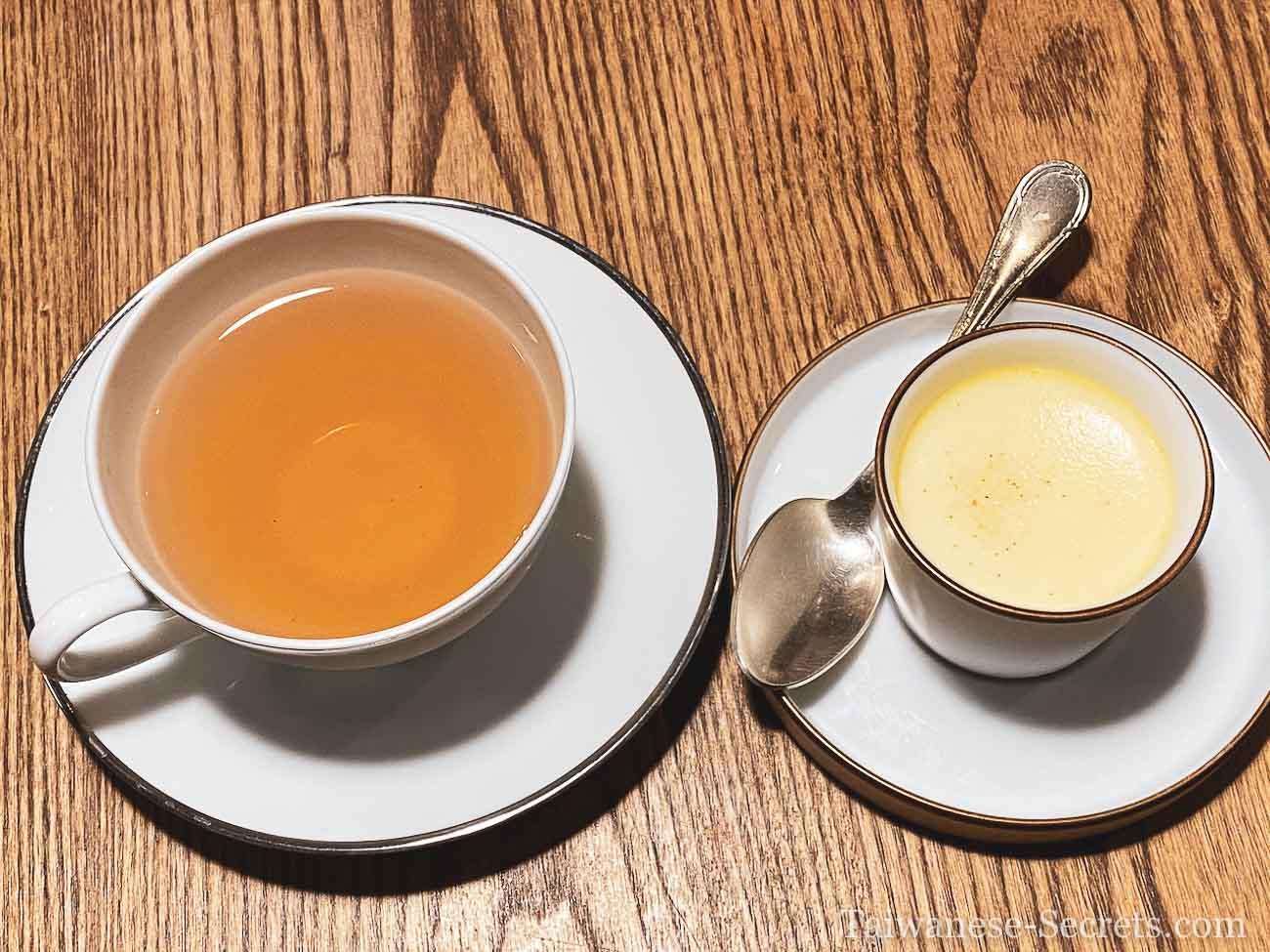 desert and tea