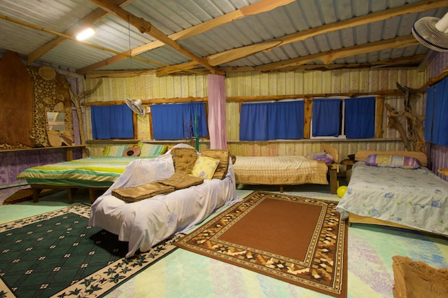 taitung tree house rooms