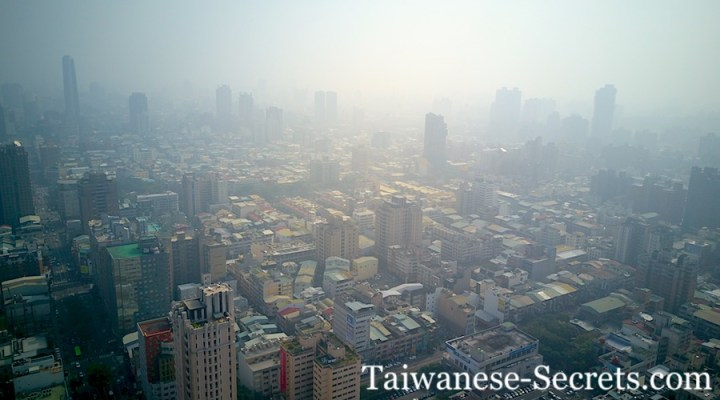 Air Pollution in Taichung City, Taiwan