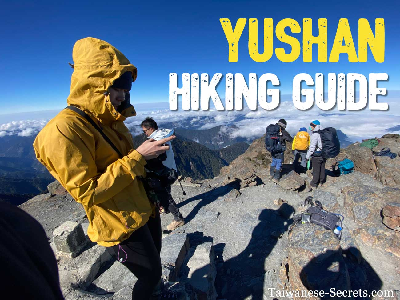 yushan hiking guide taiwan