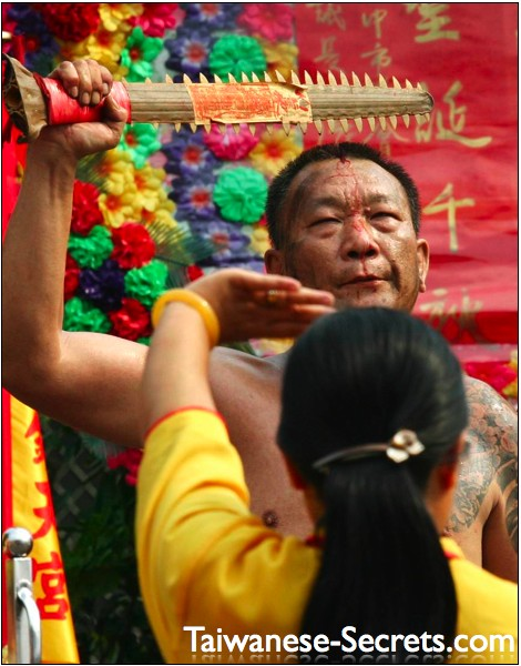 crazy chinese man