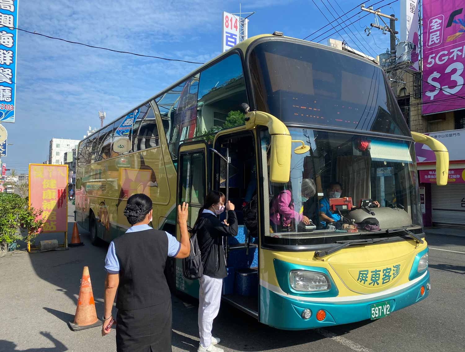 fangliao to kenting local bus