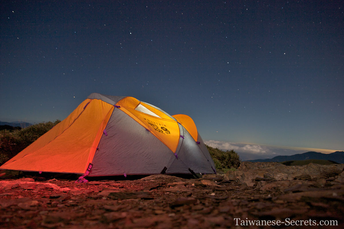 Camping on hehuanshan