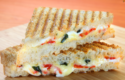 pizza rock caprese panini