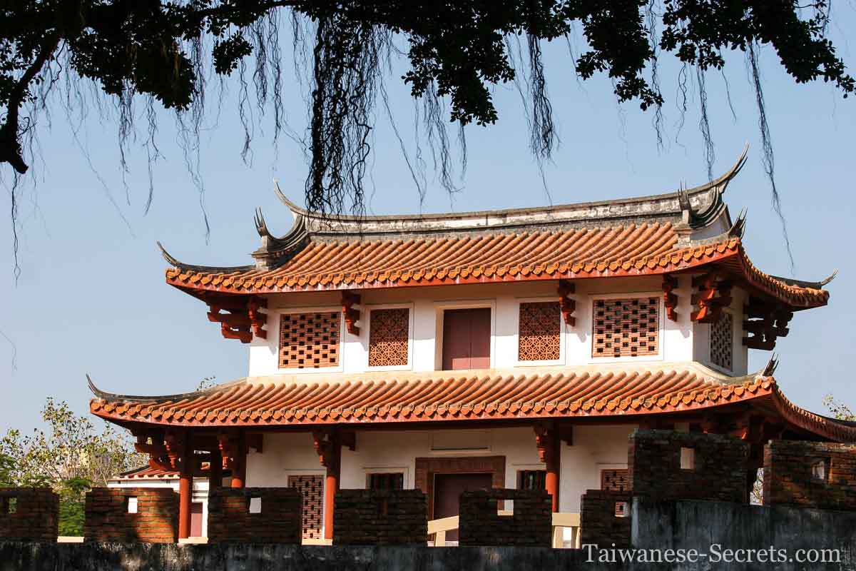 great south gate of tainan city