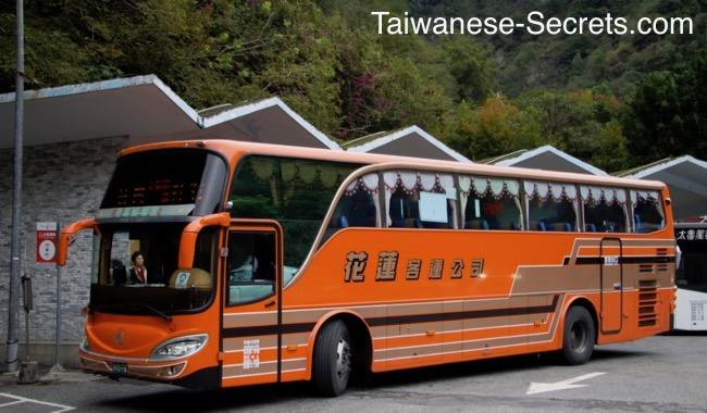 hualien taroko shuttle bus