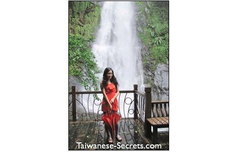 jiaosi waterfall yilan county taiwan