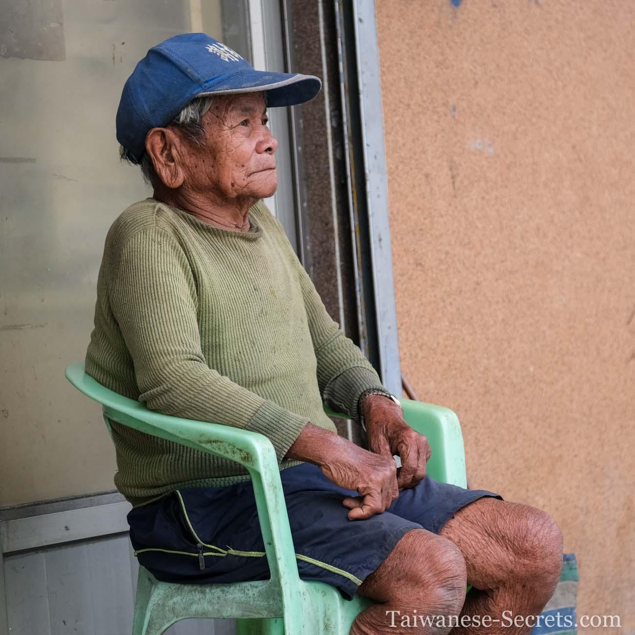 an elder yami tao man from orchid island