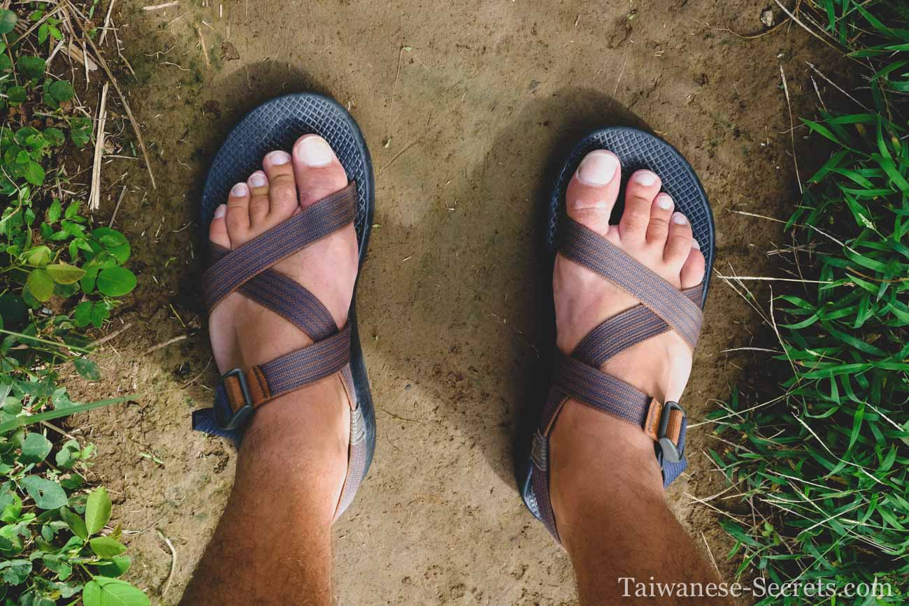 walking sandals for orchid island taiwan