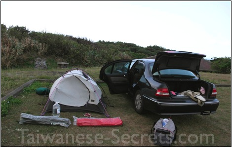 camping in taiwan