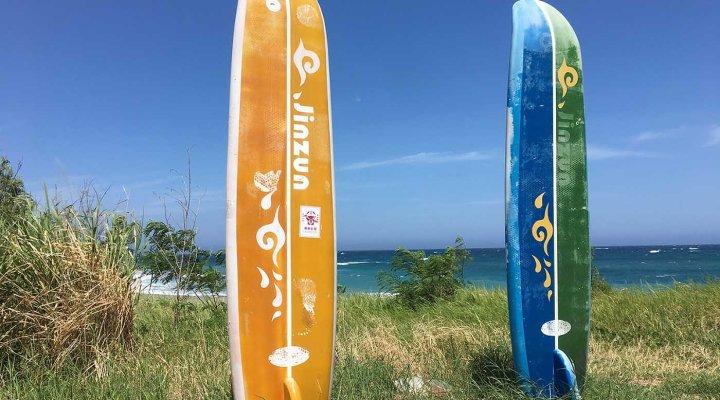 jinzun surfing
