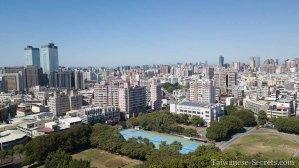 taichung city drone view november 2020