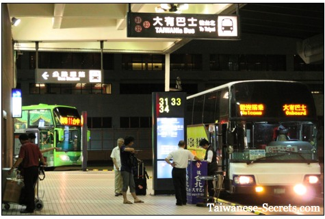 bus station taipei airport taiwan