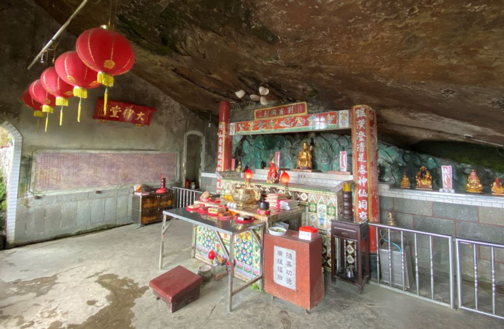Inside Yinhe Cave Temple