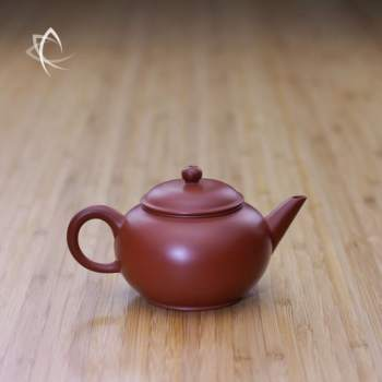 Small Classic Shui Ping Red Clay Teapot Featured View