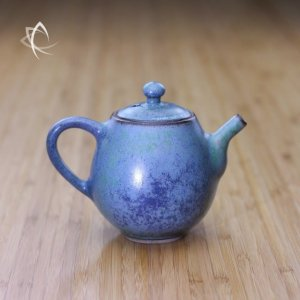 Sea Mist Lavender Taller Teapot Featured View
