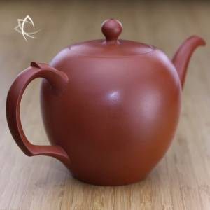 Large Mei Ren Jian Red Clay Teapot Other View