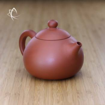 Larger Xi Shi Red Clay Teapot Angled View