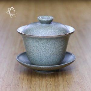 Slate Grey Ju Pi Larger Gaiwan Featured View