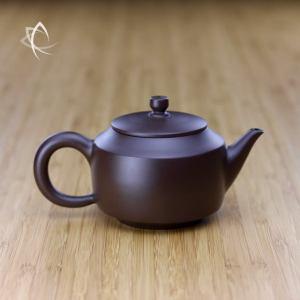 Hand Thrown Angular De Zhong Shaped Teapot Featured View
