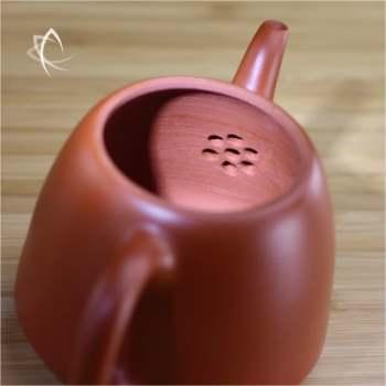 Hand Thrown Bell Shaped Teapot Filter View