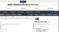 Firefox brings in font inspector, WebRTC