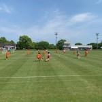 九州リーグU-13、U-14TRM vs 日章学園中