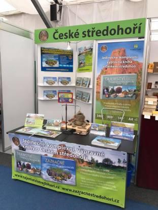Svět knihy 2017 – Stánek České středohoří