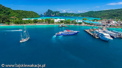 Tajskie wakacje - Wycieczki Tajlandia - Rajskie wyspy Phi Phi