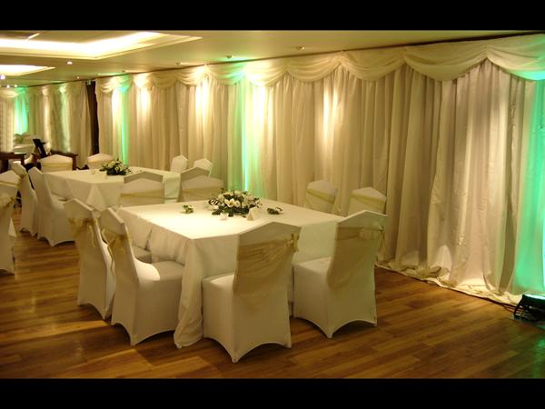 Wedding Venue Draping Wall Draping For Wedding