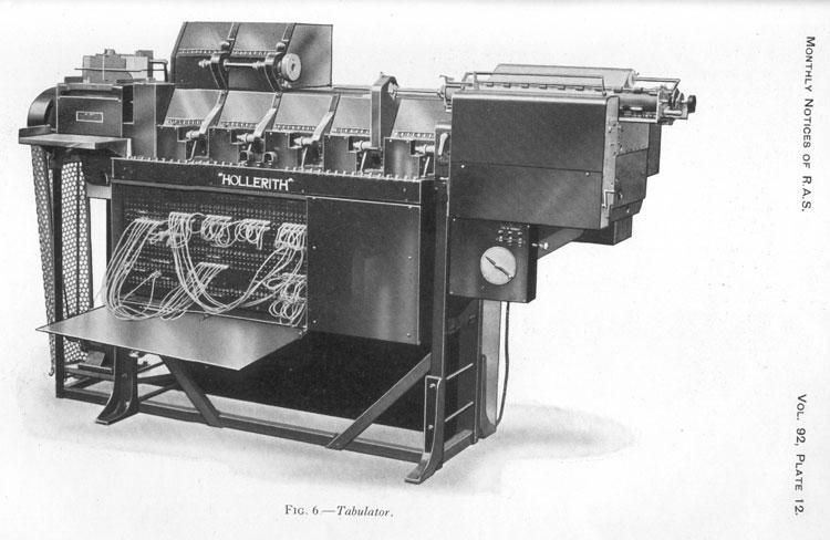 sejarah komputer pertama - ibm tabulator
