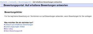 eBay Bewertungen
