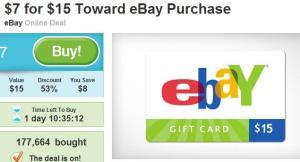 eBay Gutschein bei Groupon