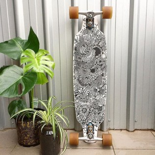 Custom Skateboard by DNART