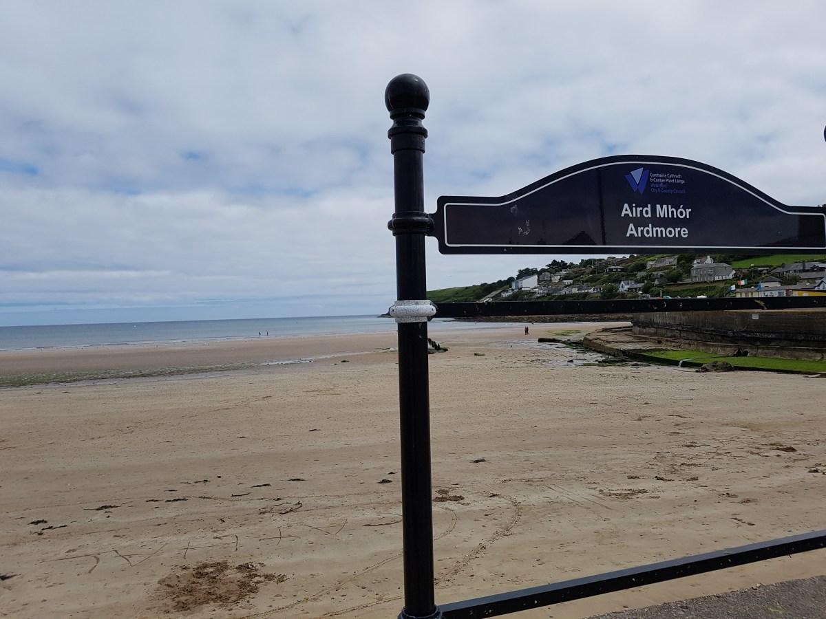 Beachwalk : Ardmore Beach, Waterford