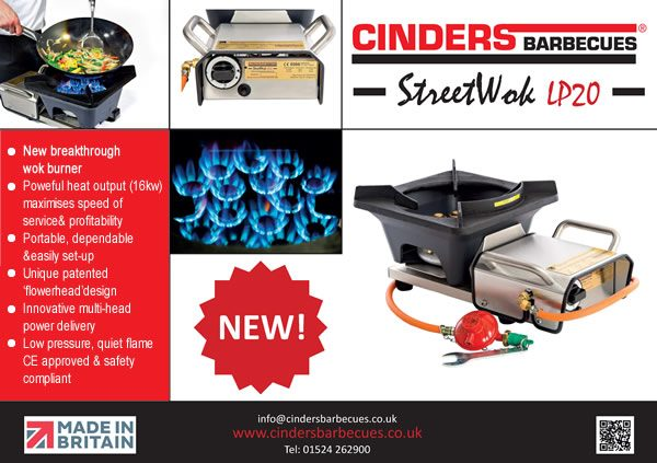 Cinders Barbecue Ltd