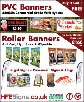 PVC Banners Signs Flags