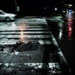 真夜中の雨