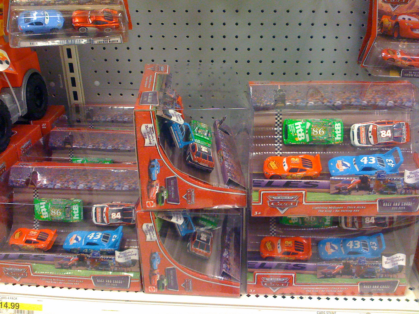 Take Five A Day Blog Archive Mattel Pixar Diecast CARS