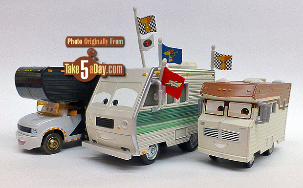 Mattel Disney Pixar CARS Doug RM Makes You Want To Do The