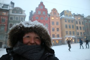 Stockholm in de winter