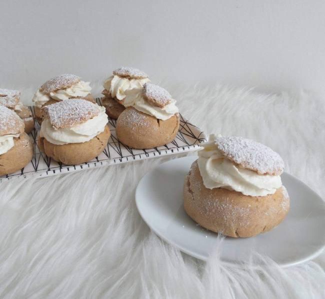 Recipe for swedish semlor