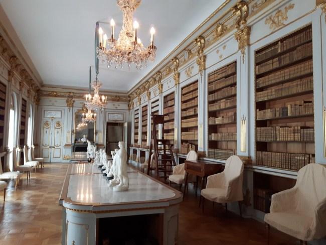 Bibliotheek Drottningholm Slott