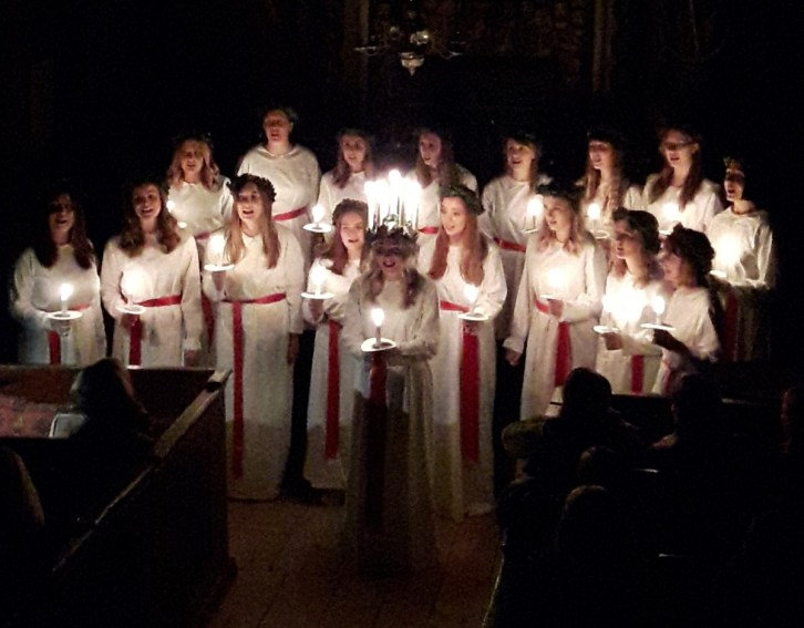 Lucia concert Lund