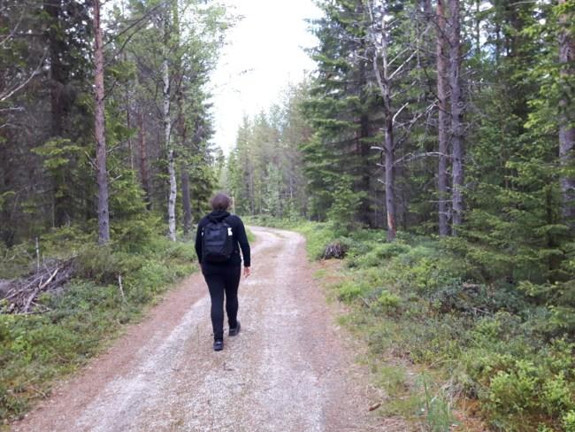 wandelen bij Åsarna