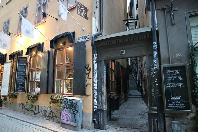 Mårten Trotzig gränd Stockholm