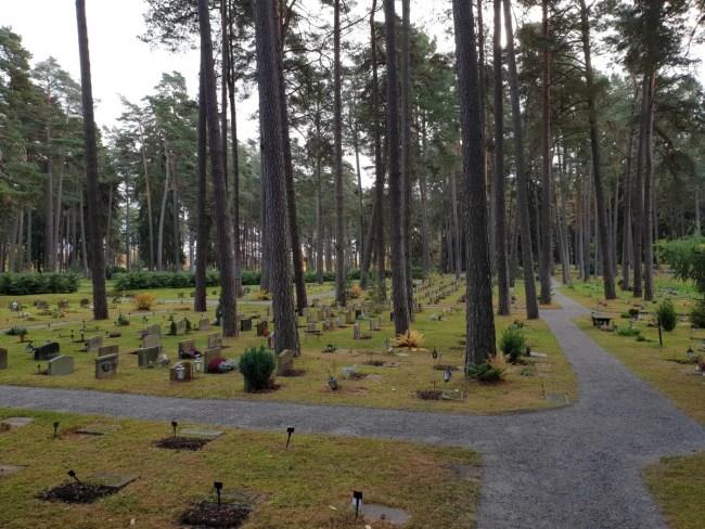 Skogskyrkogården, een kerkhof in een bos