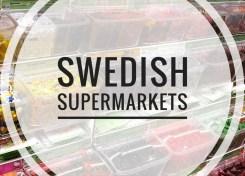 Supermarkets in Sweden